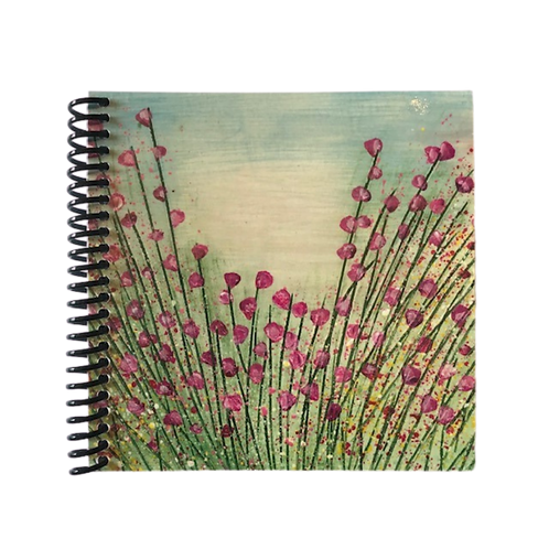 Pretty Pink Blooms Note Book