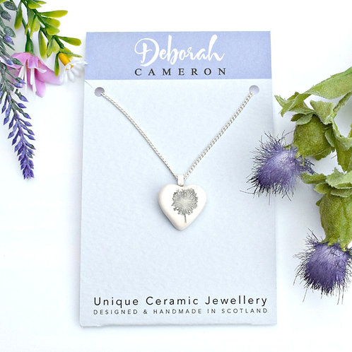 Scottish Wish Heart Necklace