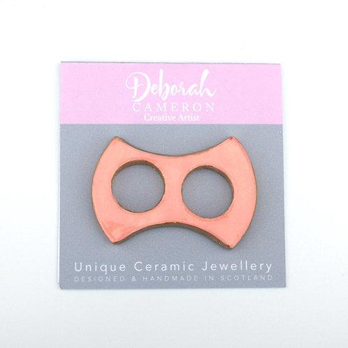 Sherbet Slimline Scarf Ring Pink