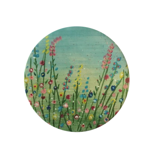 Perfect Summer Garden Ceramic Coaster