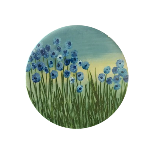 Forget me not Ceramic Coaster