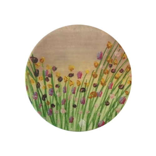Country Garden Ceramic Coaster