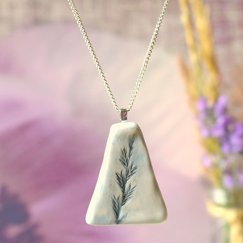 Blue Country Heather Necklace