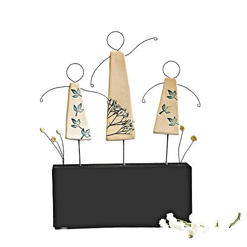 My Girls Sculpture Trio
