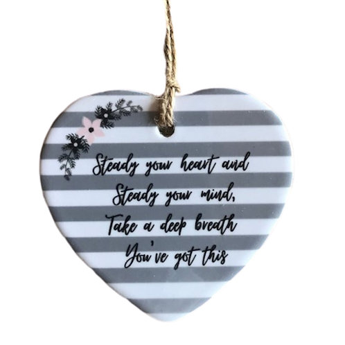 You've Got This Ceramic Heart