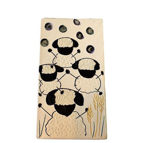 Ceramic Art Wall Plaque Tile