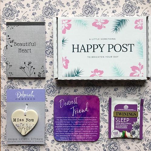 Happy Post Dearest Friend Gift Box