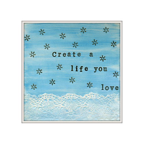 Create Mixed Media Art Print