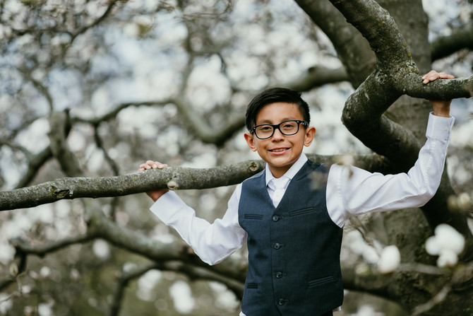 Dominic's First Communion
