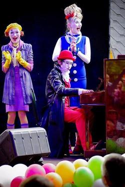 детские спектакли клоуны Грим Масса