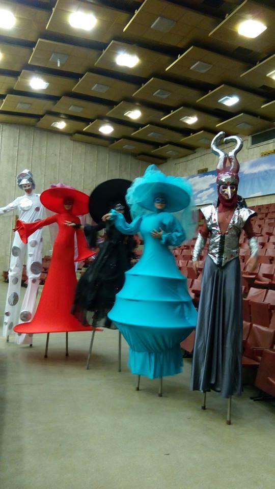 детские спектакли Москва Грим Масса