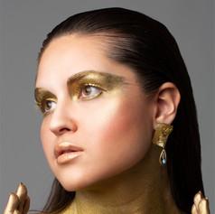 Phantasie-Make up & Haare
