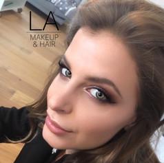 Abend-Make up & Haare