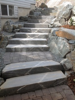 Perfect rock stairs