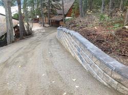 a long driveway