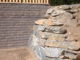 Rock and block walls