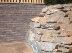Rock and block walls