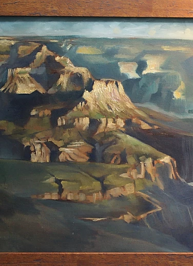 Grand Canyon. 16x 20in. oil on canvas