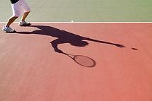 テニスはサーブ
