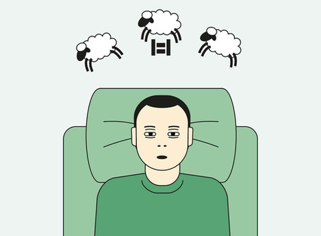 1/3 av befolkningen sliter med søvn