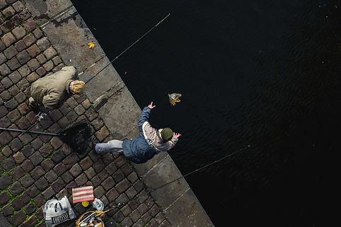 Prague, Fisherman