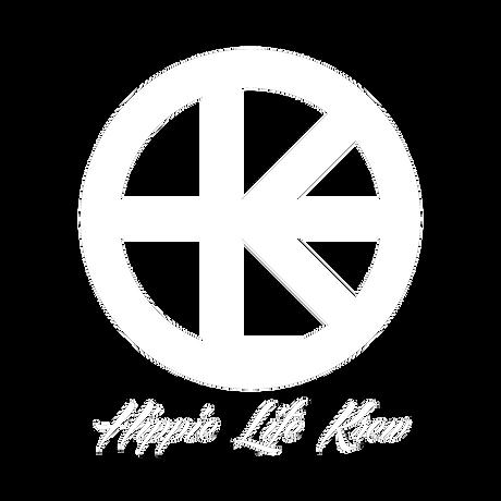 Hippie Life Krewe  Logo White