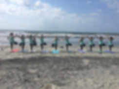 Beach Yoga, Wedding Yoga, Bachelorette Yoga, Birthday Yoga - Charleston, Sullivan's Island, Isle of Palms, SC