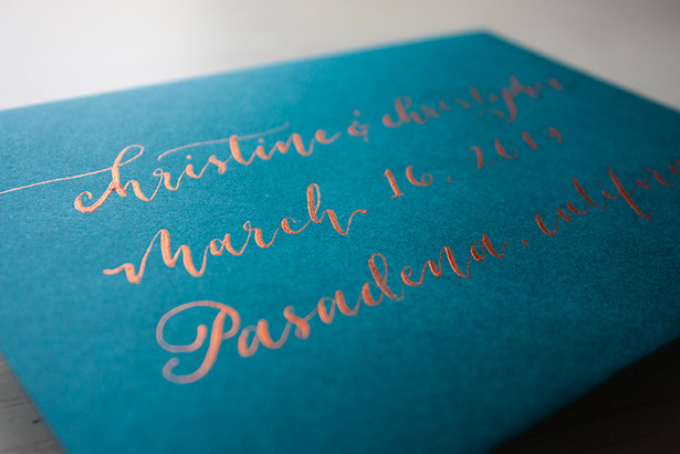 Abney Wedding Envelope
