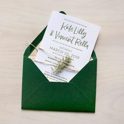 Rella Wedding Invitation