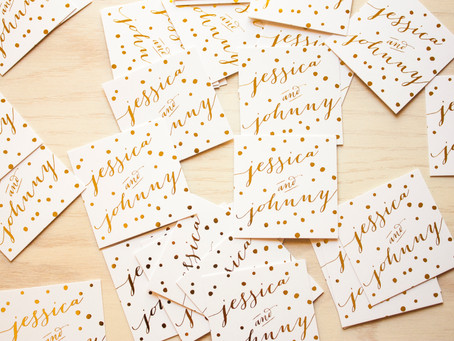 3 Special Printing Techniques to Elevate your Wedding Invitations