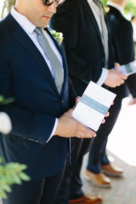Caldwell Wedding Programs