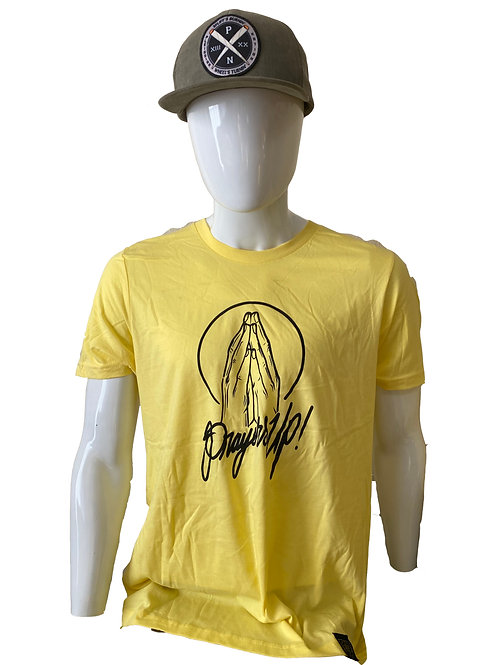 PrayersUp_Yelllow_TShirt