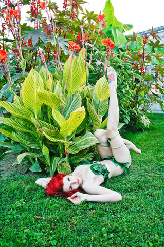 Poison Ivy Pin Up