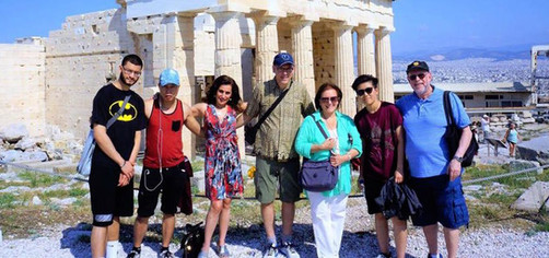Our very first Luce Leadership Experience to Greece in 2017
