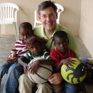 With our children in Gonaives, Haiti years before the earthquake. We arrived in Haiti in 1999.