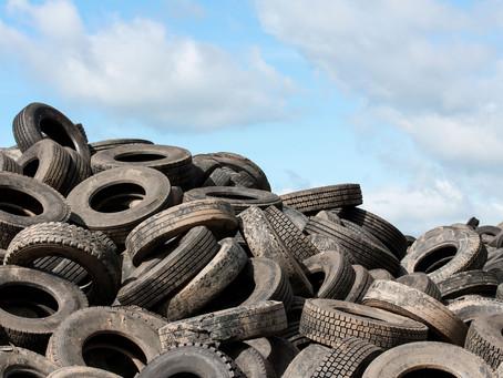 Hacia una economía circular, la ciudad de Campana recolectó los primeros 500 neumáticos fuera de uso