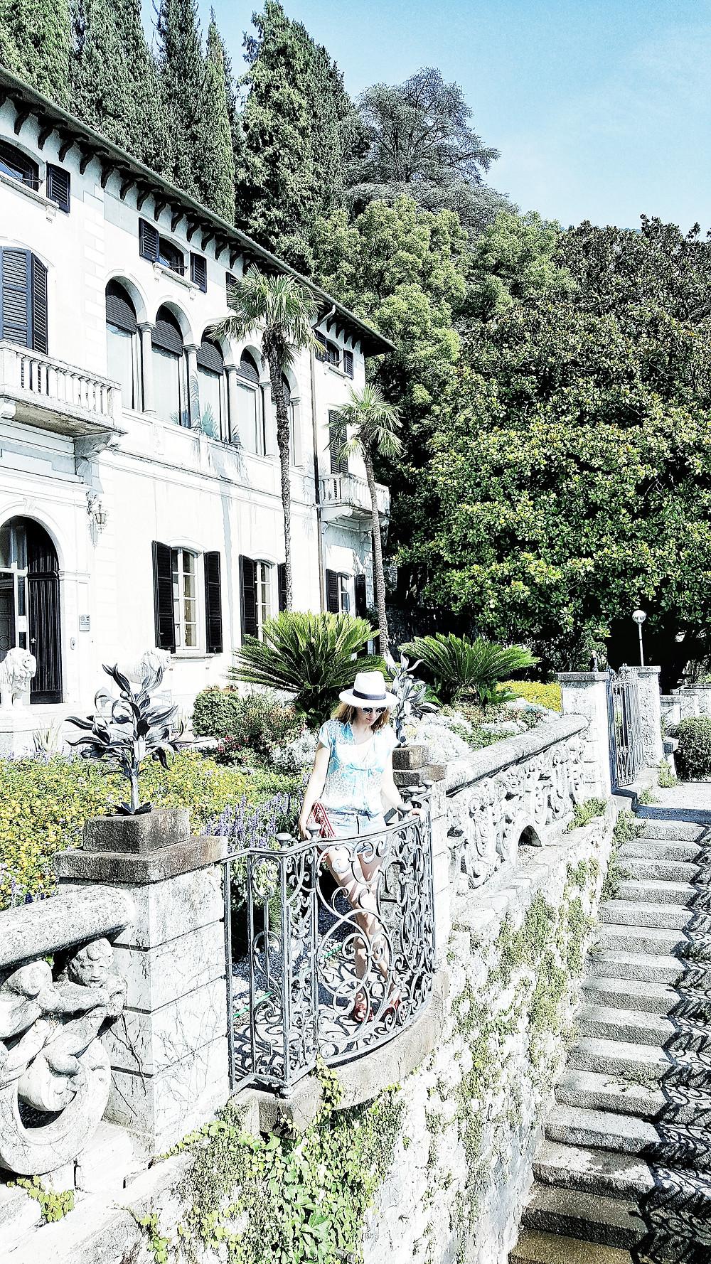 The garden of Villa Monasteri