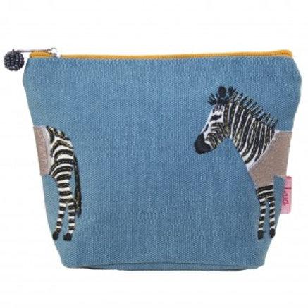 Small Zebra Make-Up Bag