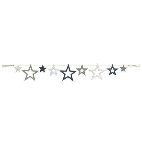 Stars Wooden Bunting
