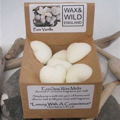 Box of 20 EcoSoy Wax Melts - Pure Vanilla