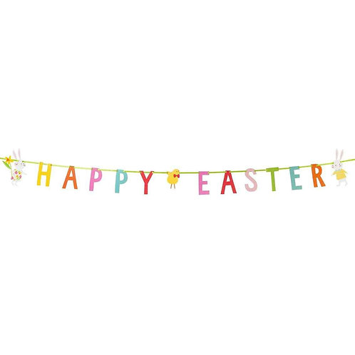 Happy Easter Bunting - 3m