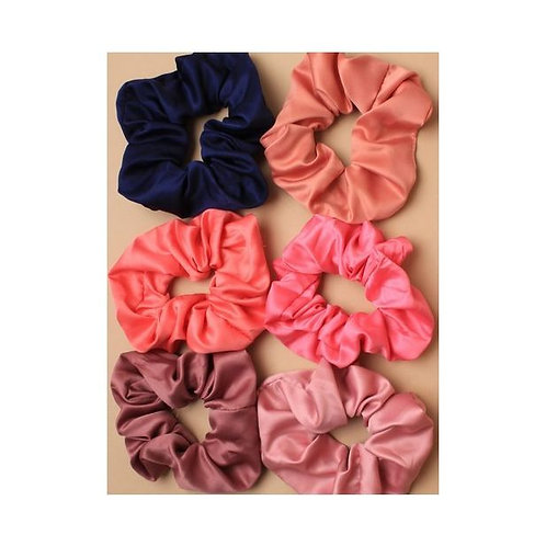 Satin Scrunchie in 6 colours