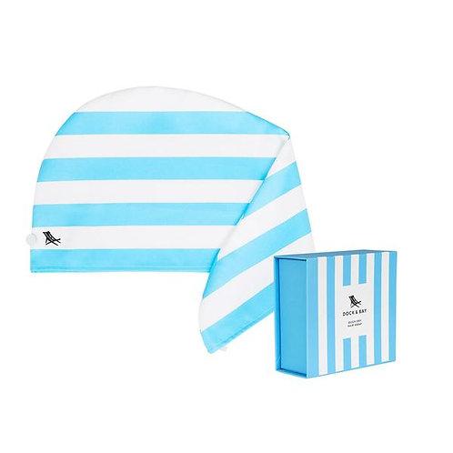 Dock & Bay Hair Wrap - Tulum Blue