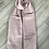 Thumbnail: Pink & Grey Knitted Scarf
