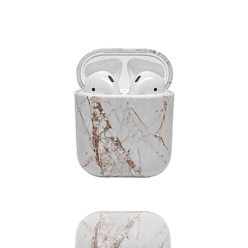 AirPods Case - Rose Gold Marble