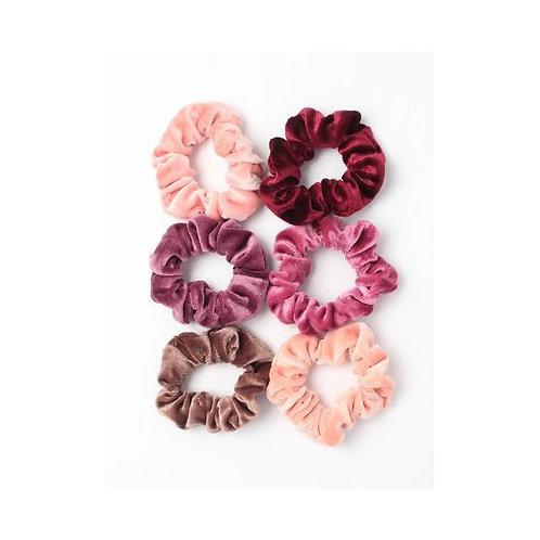 Velvet Scrunchie in 6 colours