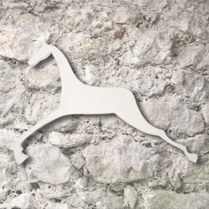 Wooden Leaping Horse Wall Decoration