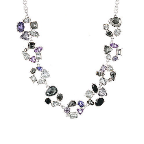 Silver Statement Collar Necklace