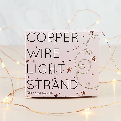 30 Battery LED Copper Wire String Lights