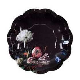 12 Party Baroque Small Paper Plates